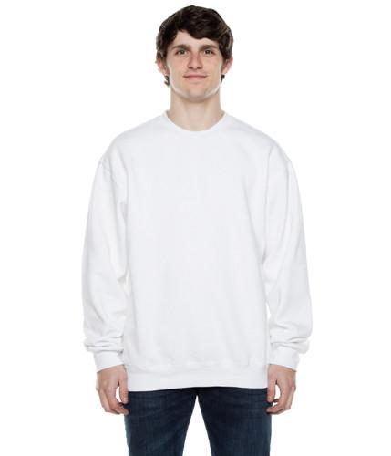 Crew Neck Sweatshirt White