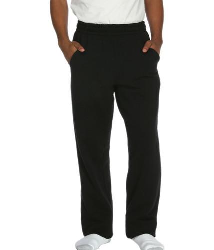 Side Pocket Sweatpants Black